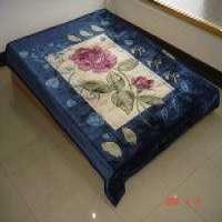 印刷的毛毯