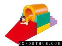 School Age Tunnel Climber