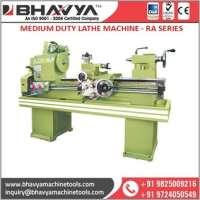 CE Certified VBelt RA Medium Duty Lathe Machine