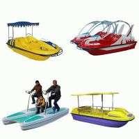 Marine Fiber Glass Pedal Boat