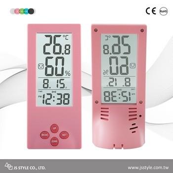 Transparent LCD Display Alarm Clock With Calendar