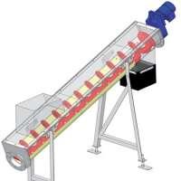 Food Grade Flexible Screw Auger Conveyor