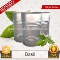 ODM Pure Private Basil Essential Oil Therapeutic Grade Aroma Massage Oil