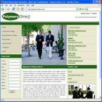 Polymers Resin Plastics Trading Web Site