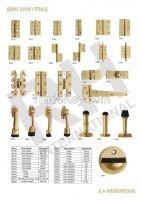 Brass Door Hinges & Door stoppers