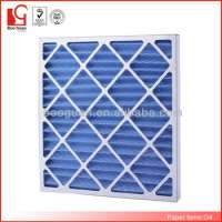 G4 Cardboard Frame Disposable Pleated Air Filter