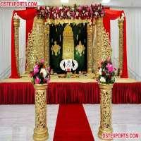 木婚礼Mandap