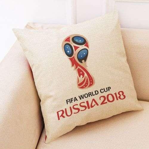 FIFA World Cup Cushions Cotton Linen Home Decor Hitextiles (CH017)