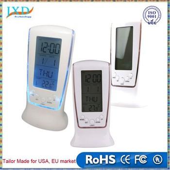 Digital LCD Alarm Calendar Clock