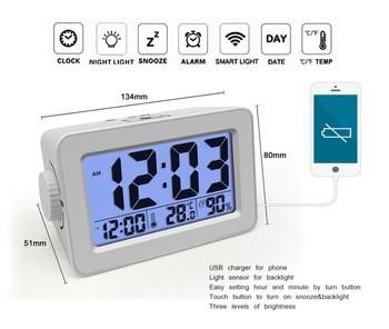 smart cube alarm Digital calendar clock