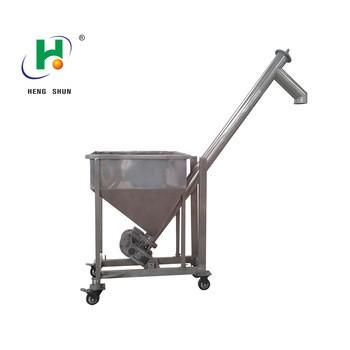 stainless steel screw conveyor powder industry