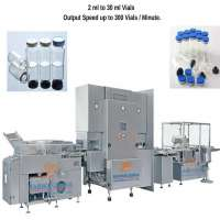 Automatic Injectable Vial Filling Line