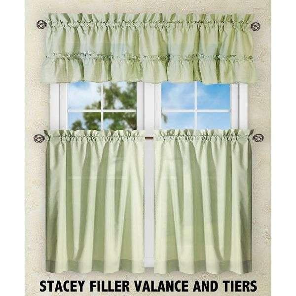 Kitchen Tier Curtain Valance Set Ktexinter (DS002)