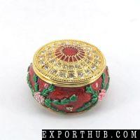 Metal Jewelry Gift Box QF3391