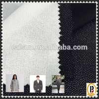Fusible Water Jet Loom Woven Interlining Fabric Lady's Shirtdressmenswear **5075