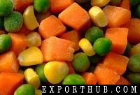 冷冻混合蔬菜