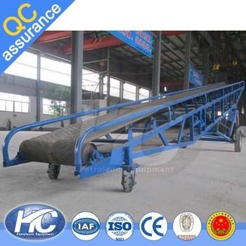 Easy operation industrial conveyor belts conveyor systems flat belt conveyor low