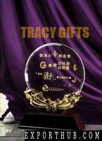 Designed K9 Crystal Trophy Gift Box Packing