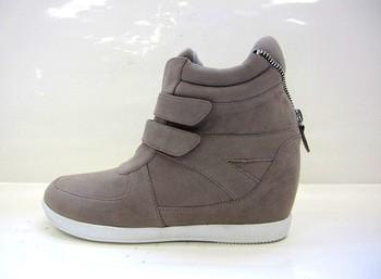 运动安全鞋秋季高跟鞋