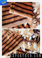 法兰绒毛毯