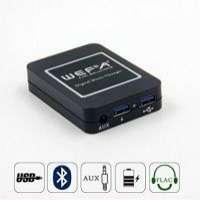 WEFA Digital Music CD Changer Bluetooth Car Adapter Hands Fress Call Adapter Mazda Honda Toyota Audi VWSubaruClarion SuzukiNissonPeugeot