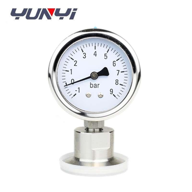 sanitary pressure gauge