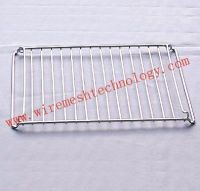 JHT chromed barbecue grill mesh stainless steel barbecue grill mesh