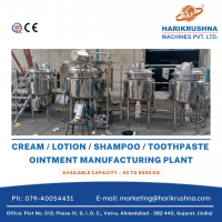 Ointment / Cream / Lotion / Shampoo / Toothpaste Manufacturing Plant