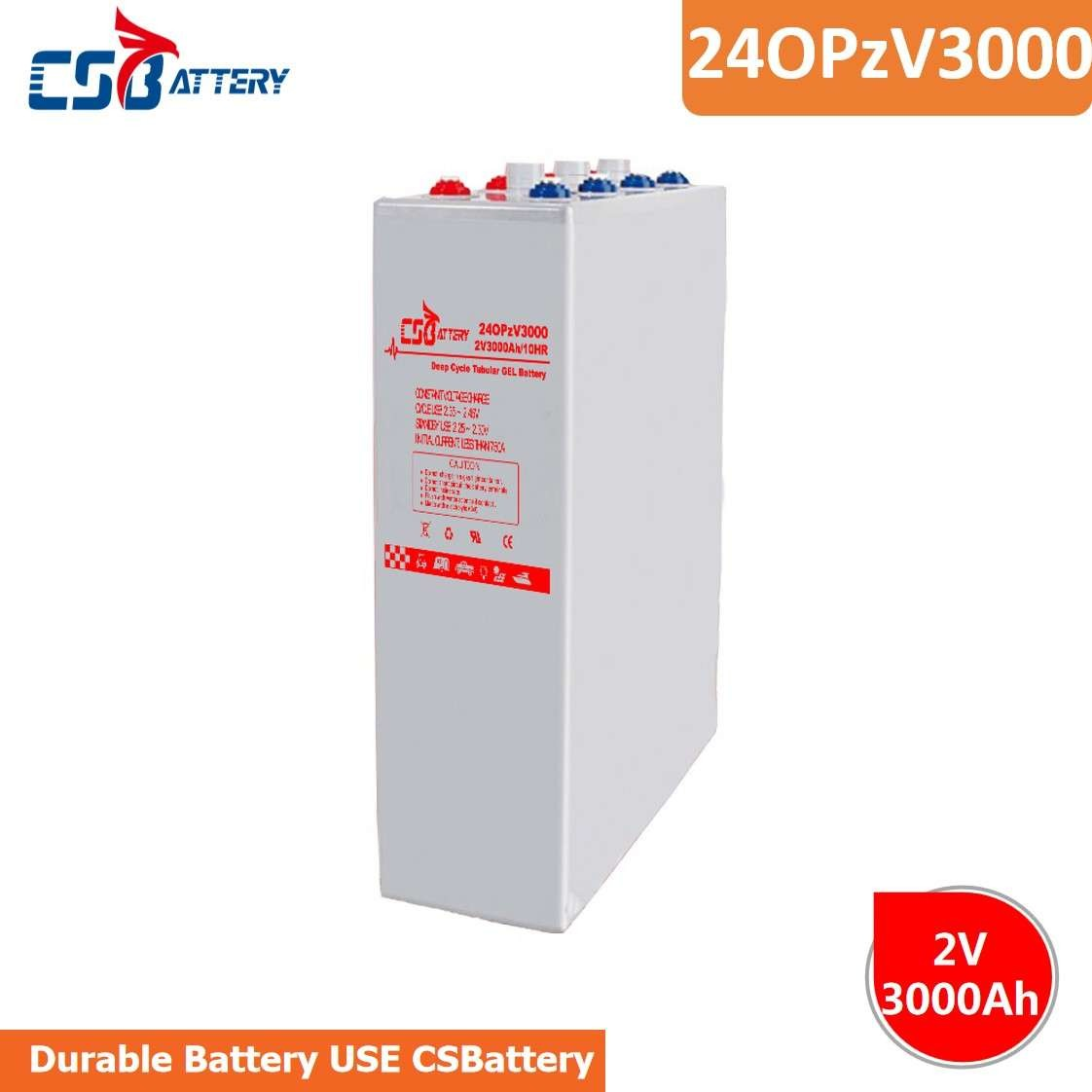 CSBattery 2V3000Ah Top Sell 20+ Years Working  Battery For Powered-Heater/Machine/Power-Tools/Turf&Irrigation-Systems
