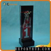 Black Acrylic Trophy