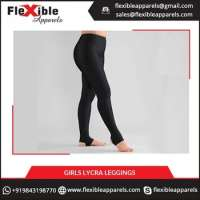 Stretchable Girls Lycra Leggings