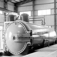 Vulcanisation Autoclave For Rubber