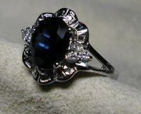 sapphire silver jewelry