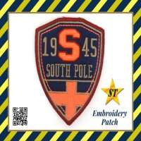 Cheap College Embroidered Cloth Patch