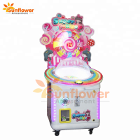 & Coin Operated Lollipop Vending Game Machine