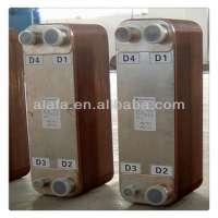 Copper Brazed Plate Heat Water To Refrigerant Heat