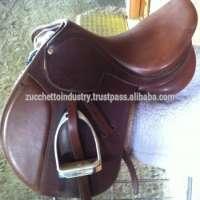 Tan Color Close Polo Saddle