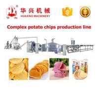Complex Potato Chips Production LineCrispy Pringles ChipsCrackerMaking Production Line **0250Kgh