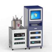 RF 2DC Magnetron 3-target Co-sputtering Complex Coating Equipment