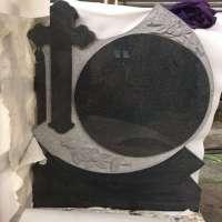 Premium Black Cross Monuments