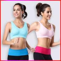 Women Seamless Gym Wear Sports Bra Pad