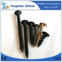 C1022 black phosphated fine and coarse thread drywall screw galvanized drywall screw