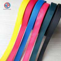 Custom **0% Polyester Double Face Or Single Face Solid Color Grosgrain Ribbon