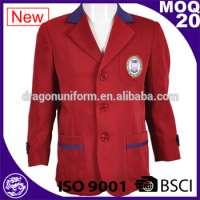 Boys Girls Red Coat School Jackets Blazer School Uniforms