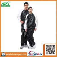 Dual Color PVC Sauna Sport Suit
