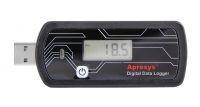 Apresys USB多用途可重复使用温度数据记录仪D25天