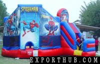Inflatable Bouncer Spiderman Bounce Houses Inflatable Jumpers