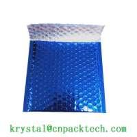Custom Color Foil Bubble Mailer Metallic Padded Shipping Bag Envelope
