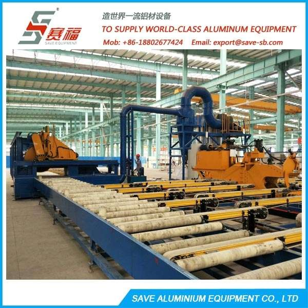 Aluminium Extrusion Profile Integral Run-out Cooling System