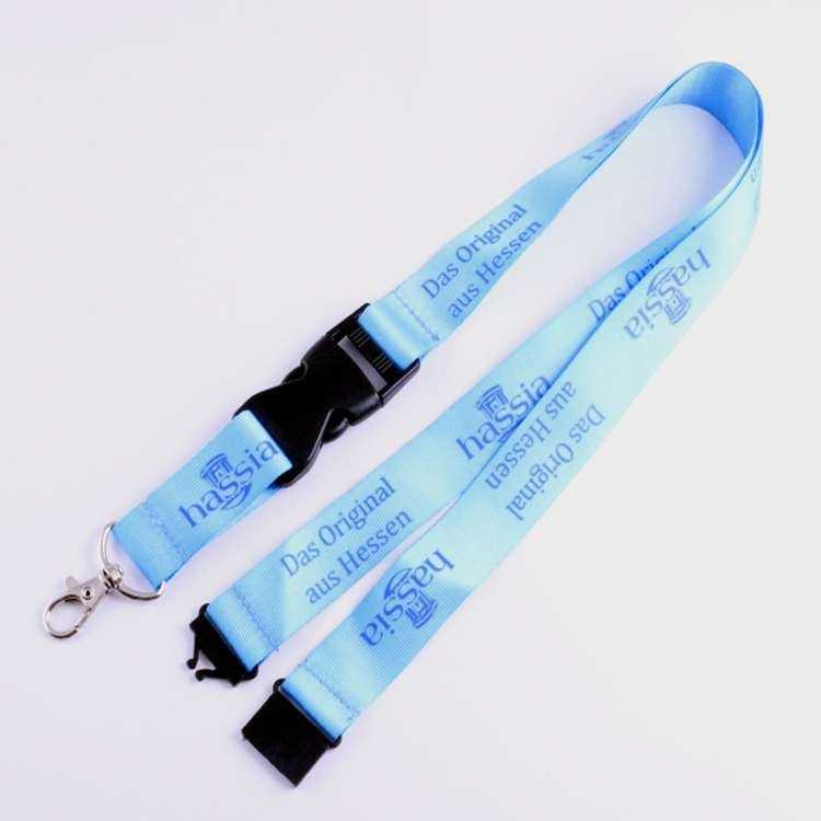silk screen lanyard